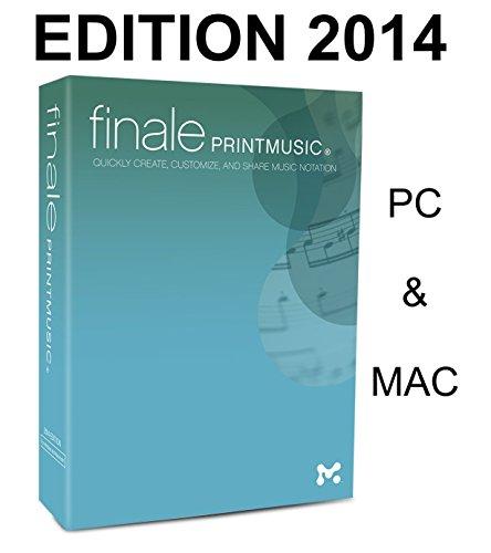Finale PrintMusic 2014 - Musik komponieren, schreiben, anhören und ausdrucken… [Notationssoftware für PC / MAC]