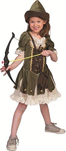 Robin Hood Mädchen Kostüm Gr. 164 - Tolle Verkleidung für Fasching Film Party und (Für Kostüme Mädchen Robin)