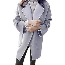 Cebbay Top Femme Manteau,Gilet Mode De Laine Trench Coat Chic Sweater Pull, Hiver Manche Longue Outwear Pullover Hauts Chemisier et Blouse