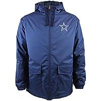 New Era NFL Dallas Cowboys Sideline Parka Coat Navy