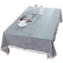 Dexinx Rectangular con Encanto Raya Tabla Cubierta a Prueba de Polvo Impermeable de la Tabla Decorativa