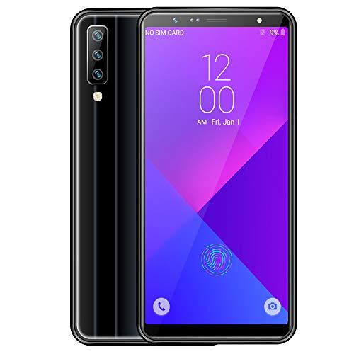 FSM88 3G-Smartphone, 18: 9 High-Definition-Vollbild-Handy mit 6,0 Zoll Farbverlauf, 6,8 mm ultradünn, 1 GB RAM + 16 GB ROM-Android-Telefone,Black