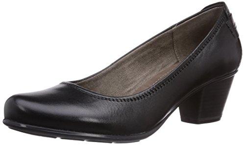 Jana 22404, Chaussures à talons - Avant du pieds couvert femme Noir - Schwarz (BLACK UNI)