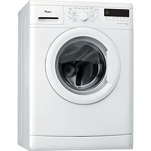Whirlpool DLC7012 Freestanding Front-load 7kg 1200RPM A+++ White washing machine - washing machines (Freestanding, Front-load, White, Left, LCD, Stainless steel)