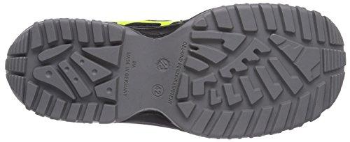 Proteq Sicherheitsschuhe S1P ESD PR25 Veloursleder Unisex-Erwachsene Sicherheitsschuhe Schwarz (Black/Grey)