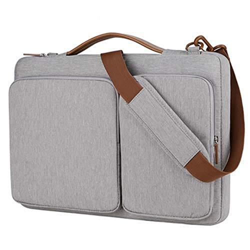 13 15 15.4 15.6 Laptop-Hülle 13.3 Zoll, Notebook-Handtasche, Computer-Umhängetasche Grey 15
