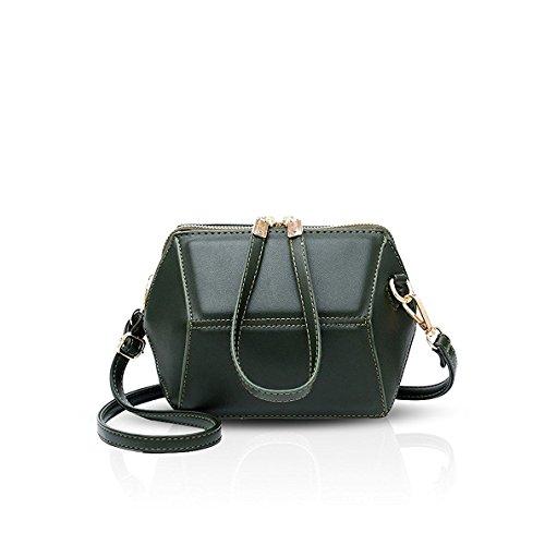 Bilis, Borsa a mano donna small, Gray (grigio) - Bilis-358 Green