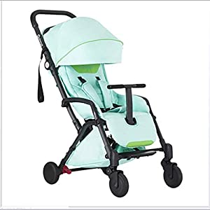 LAZ Baby Stroller, Light Folding Shock Absorber Portable Stroller City High Vision Stroller   3