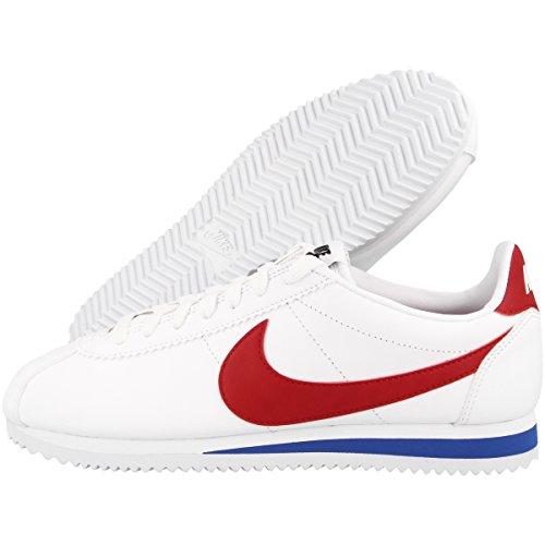 Nike-Wmns-Classic-Cortez-Leather-Zapatillas-de-Gimnasia-Mujer-Blanco-WhiteVarsity-RedVarsity-Royal-40-EU