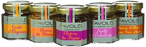 FAVOLS Ecrin Translucide 5 Bocaux 250 g