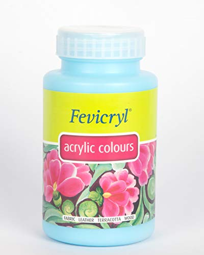 Pidilite Fevicryl Acrylic Colours - 500 ml (Sky Blue)