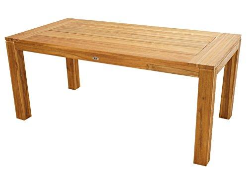 plob 4200056Esstisch, natur, 180x 90x 76cm (Teak Boot Möbel)