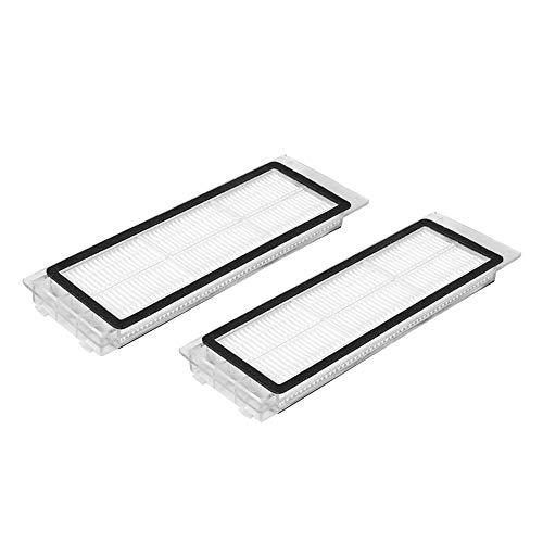 2 stücke HEPA-Filter Ersatz für Xiaomi MI Robot S50 Staubsauger Filter Filtration Teil Zubehör -