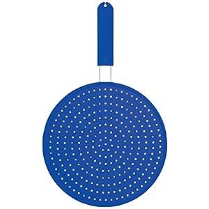 Colourworks  Silikon-Spritzschutz, 28 cm - Blau