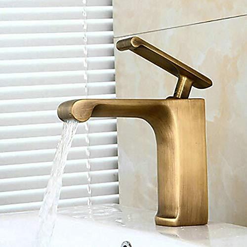 Durable Vintage Bronze-Armatur für Badezimmer, groß, antik, Messing, freistehend, mit einem praktischen Griff - Delta-badewanne-griffe