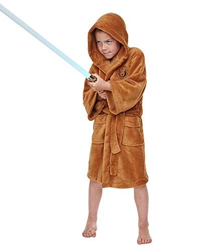 Star Wars Jedi Fleece Bademantel für Kinder - Star Wars-yoda-fleece