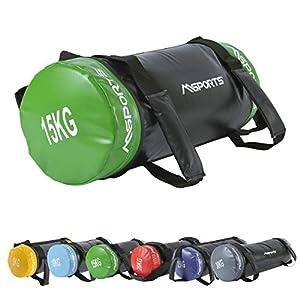 MSPORTS Power Bag Premium 5-30 kg Fitness Bag – Sandsack für Functional Fitness Gewichtssack