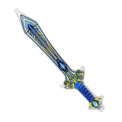 WIDMANN?Espada Mágica hinchable Unisex-Adult, Azul, 70cm, vd-wdm04821