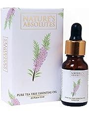 Nature's Absolutes Pure Tea Tree Oil, 15ml