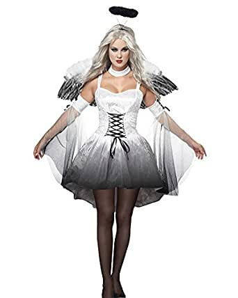 DianShao Donna Angelo Costume Halloween Cosplay Vestito