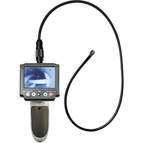 Endoskop mit Voltcraft - Sonde BS-300XRSD Ø Sonde: 8 mm, Länge der Sonde: 183 cm, Wechselsonde mit abnehmbarem Monitor -