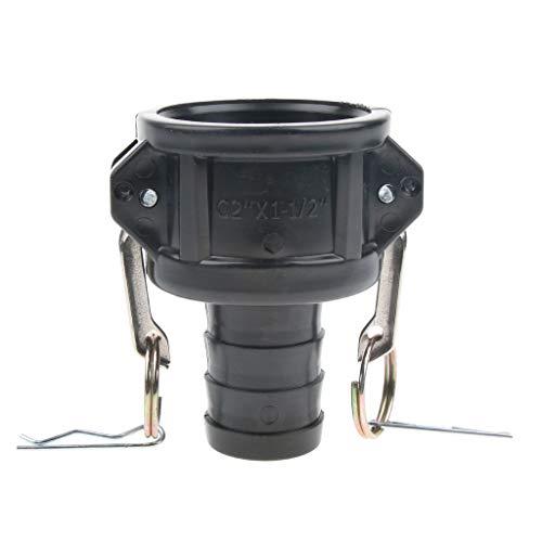 Homyl 1.5'' Bouchon De Tuyau Adaptateur De Réservoir d'eau IBC Raccord Rapide
