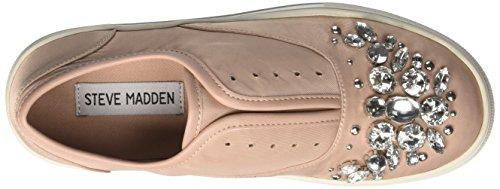 Steve Madden Passion, Sneaker a Collo Basso Donna Rosa (Blush Fabric)