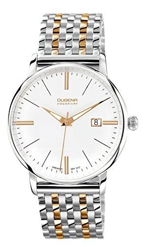 Dugena Gents Watch XL Dugena Premium 7090167 Analogue Quartz Stainless Steel