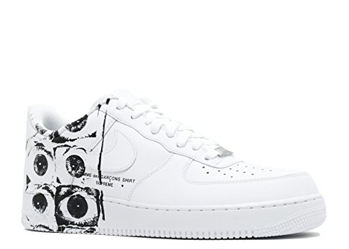 Nike Air Force 1 '07/Supreme/CDG 'Supreme/CDG' - 923044-100 - Size 8.5 -