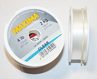 Maxima Monofilament - 100m Spool