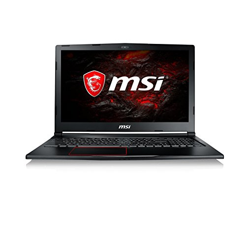 MSI GE63VR 7RE 036DE Raider 396 cm 156 Zoll 120Hz Gaming Notebook Intel core i7 7700HQ 16GB RAM 256 GB SSD 1 TB HDD Nvidia GeForce GTX 1060 Windows 10 home schwarz GE63 Notebooks