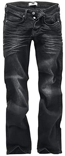 Black Premium by EMP Johnny Jeans Nero W30L32...