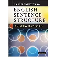 [ AN INTRODUCTION TO ENGLISH SENTENCE STRUCTURE BY RADFORD, ANDREW](AUTHOR)PAPERBACK