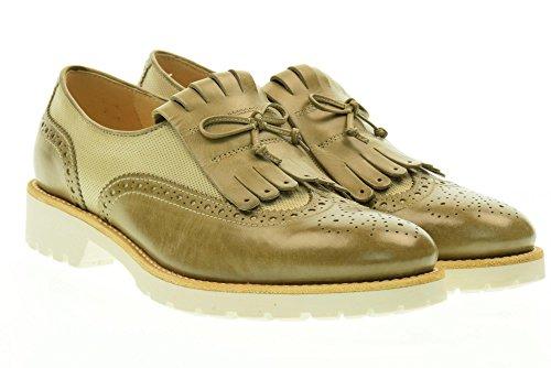 NERO GIARDINI scarpe donna inglesine basse senza lacci P717192D/406 Beige