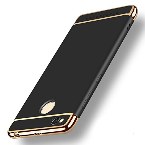 339429d891 GoldKart *3-in-1 Dual Layer Thin Back Cover Case for MI Redmi 3S Prime