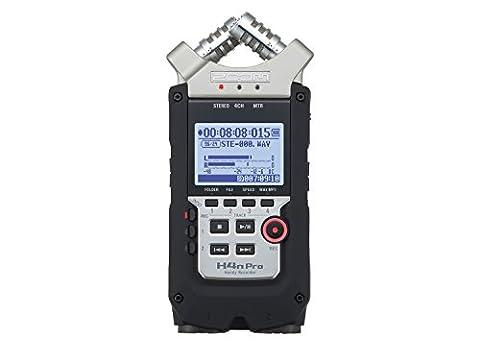 Enregistreur Audio Numerique - Zoom H4NPRO Enregistreur 4 pistes