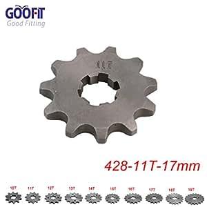Goofit 420 10 T 20mm dents moto Pignon moteur Pignons coniques de cha/îne Engine For 50cc 70cc 90cc 110cc Motorcycle Dirt Bike ATV Quad