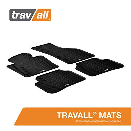 Travall® Mats Gummifußmatten - Original Travall® Zubehör TRM1016 – Allwettermatten nach Maß