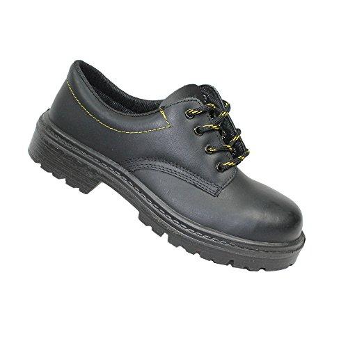 Grupo Jal S3 Sapatos De Segurança Src Trabalhar Sapatos Sapatos Ocupação Plano B-ware Preto