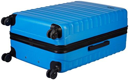 AmazonBasics Hartschalen-Trolley - 3-teiliges Set (56 cm, 69 cm, 79 cm), Hellblau - 4