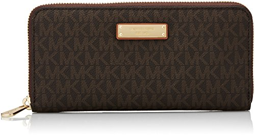 Michael Kors Damen Jet Set Item Tornistertasche, Braun (Brown), 2.5x10.1x20.3 cm -