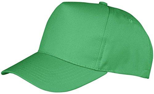 Résultat de Base Boston 5 Panel Poly Cotton Cap Imprimé - Disponib - Apple Green