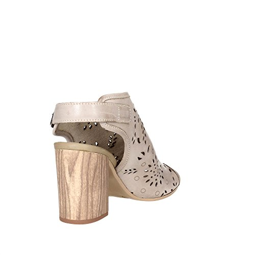 Pregunta IK20335-S Sandale Femme Marron Taupe