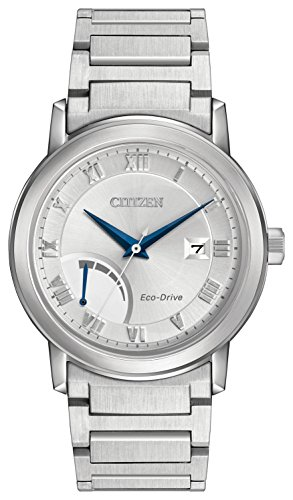 Citizen Watch Men's Analogue Solar Powered Stainless Steel Strap AW7020-51A