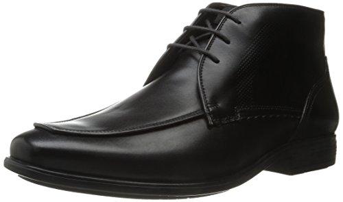Hush Puppies Leder Tom maddow schwarz Formelle Schuhe, Stiefelette, Arbeit und Uniform schuhe, Schwarz (Schwarzes Leder), 48 EU / 12 UK / 13 US (Hush Puppies Uniform Schuhe)