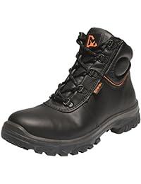 Emma Sicherheit Schuhe - D-XD Schwartz S3 HI Allround Sicherheitsschuh PU/SRC - Patrick