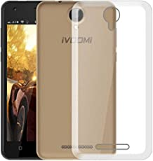 Etrail Plain Silicon Designer Mobile Silicon Back Cover New Designer Cases & Covers for iVooMi Me 1