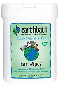 Earthbath Pet Cleaning Wipes for Ears by EARTHWHILE ENDEAVORS (English Manual)