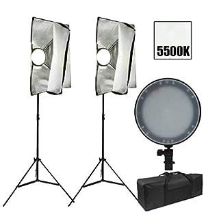 ZAOFAN Photo Studio Continuous Softbox Lighting Kit - 50