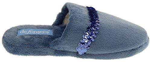 Footwear Studio Pantofole da donna Blu